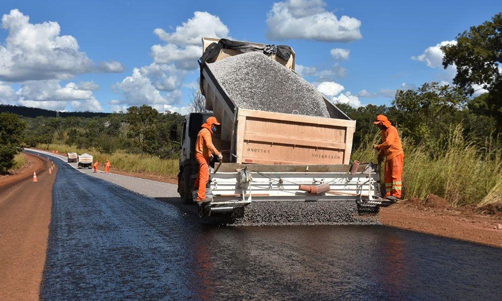 Governador Mauro Carlesse também irá vistoriar obras das rodovias TO-110 e TO-040, que estão em execução - Fotos: Esequias Araújo/Governo do Tocantins