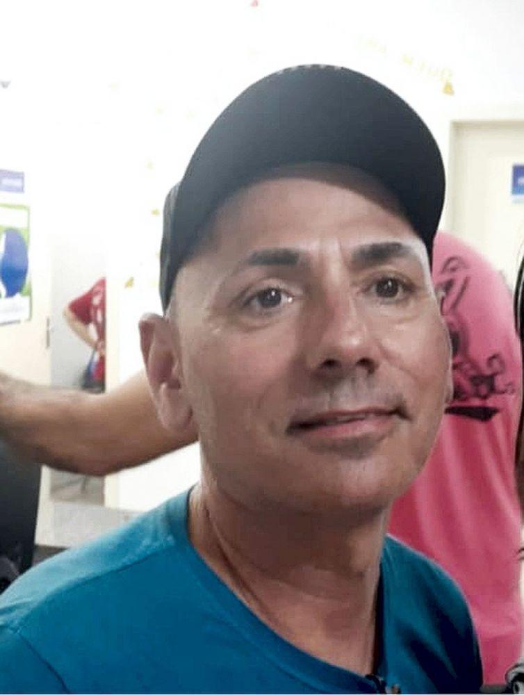 Luis Carlos Carmo Coelho, de 51 anos, foi encontrado morto em Palmas — Foto: Divulgação