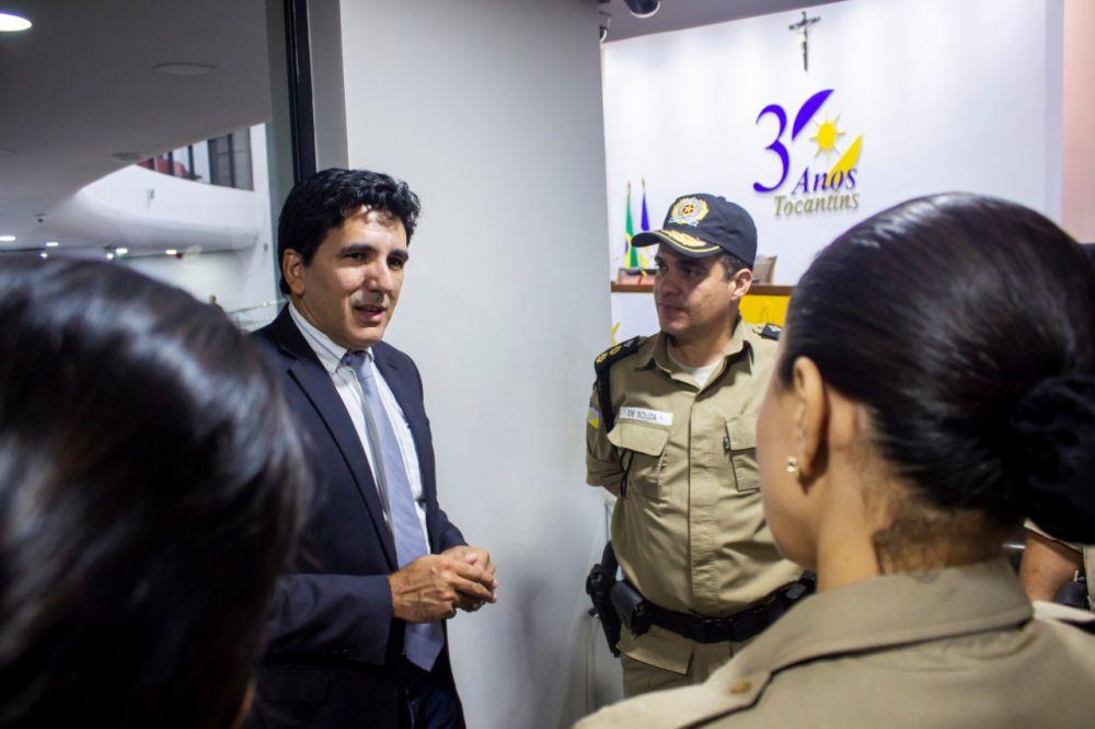 Prof. Júnior Geo parabeniza trabalho desenvolvido pela Polícia Militar com o PROERD - Foto: Divulgação