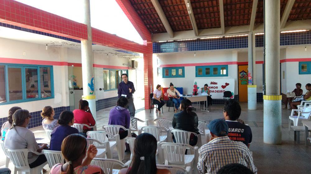Projeto desenvolvido pelo Ministério Público incentiva a leitura no município de Arraias - Foto: Divulgação