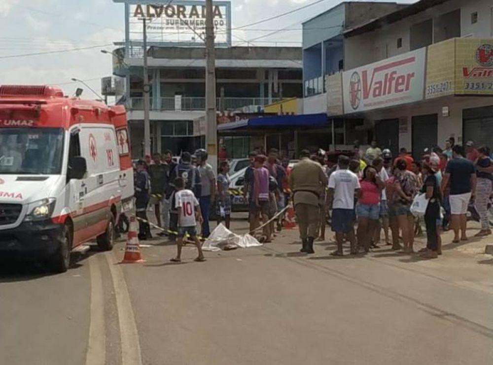 Homem é morto a golpe de faca após discussão em Peixe, motorista de carro de som presencia o crime; Vídeo – Foto: Reprodução/Agência Tocantins