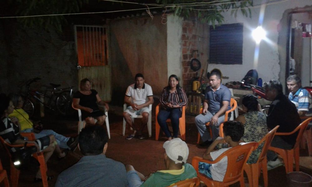 Vanda Monteiro mobiliza presidentes de bairro de Palmas para audiência pública sobre BRK Ambiental – Foto: Alessandro Ferreira/Agência Tocantins