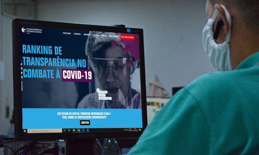Governo do Tocantins alcança conceito ótimo na terceira rodada do ranking de transparência Covid-19 – Foto: Antônio Gonçalves/Governo do Tocantins