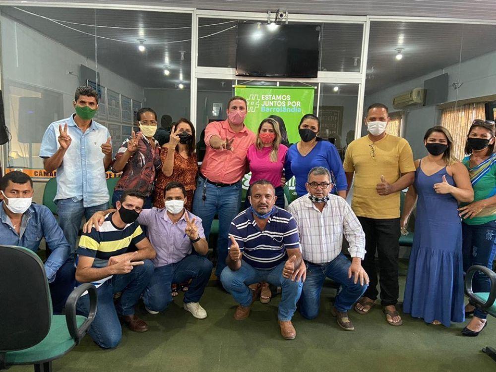 Grupo liderado pelo representante da OAB promete progresso e unidade política em Barrolândia - TO - Foto: Assessoria / Divulgação