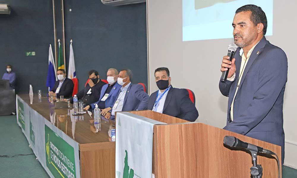 Vice-governador Wanderlei Barbosa afirmou importância da ATM na representação dos municípios – Foto: Aldemar Ribeiro/Governo do Tocantins