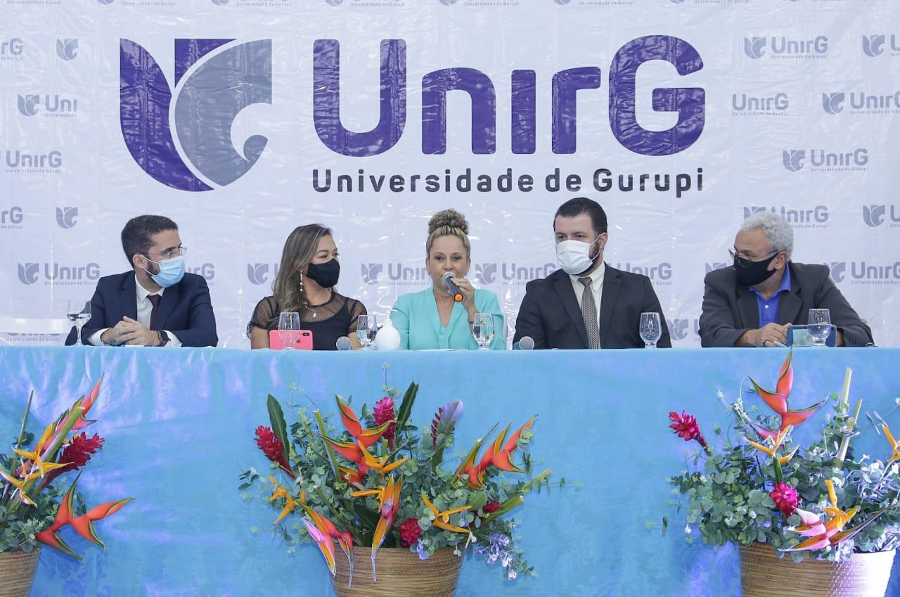 Prefeita Josi Nunes participa de evento em comemoração ao aniversário da UnirG - Foto: Marcos Veloso/Divulgação