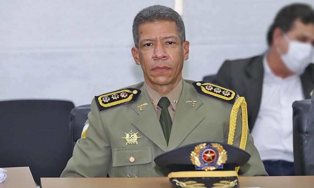 Comandante-geral da PM, cel Silva Neto, comemora as mudanças tida como um marco na história da corporação –Foto: PM/Governo do Tocantins