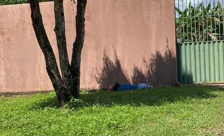 Suspeito de assalto em supermercado morreu no confronto — Foto: Divulgação