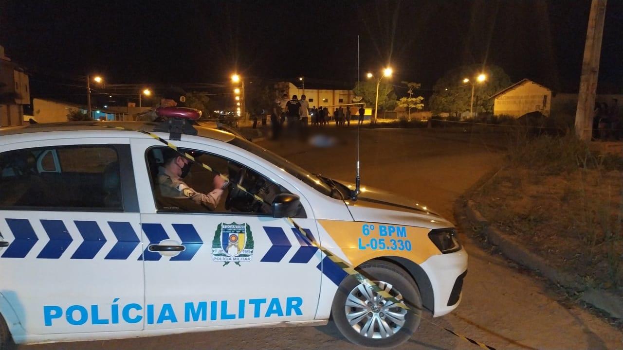 A Polícia Militar esteve no local e isolou a área para os trabalhos periciais da Polícia Técnica Científica - Foto: Alessandro Ferreira / Agência Tocantins