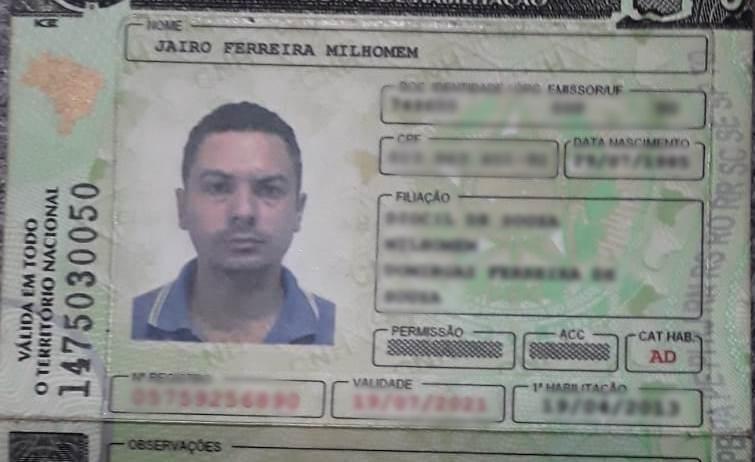 Jairo Ferreira Milhomem, 36 anos, não resistiu aos ferimentos e morreu no local – Foto: Reprodução/Agência Tocantins