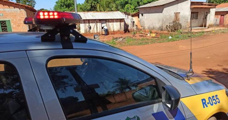 A Polícia Militar (PM) esteve no local e isolou a área para a realização dos serviços periciais – Foto: AF Notícias