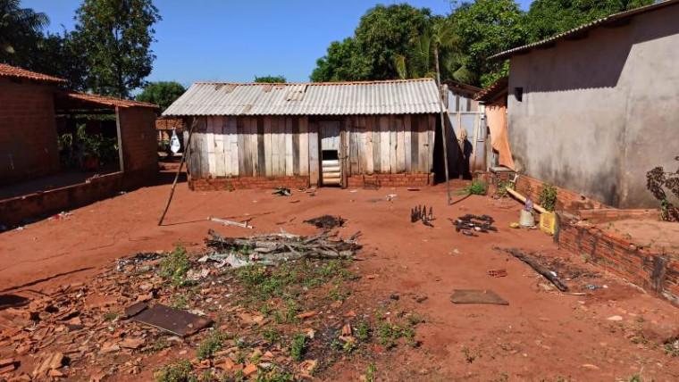 Residência onde o homem foi morto / Foto: AF Notícias