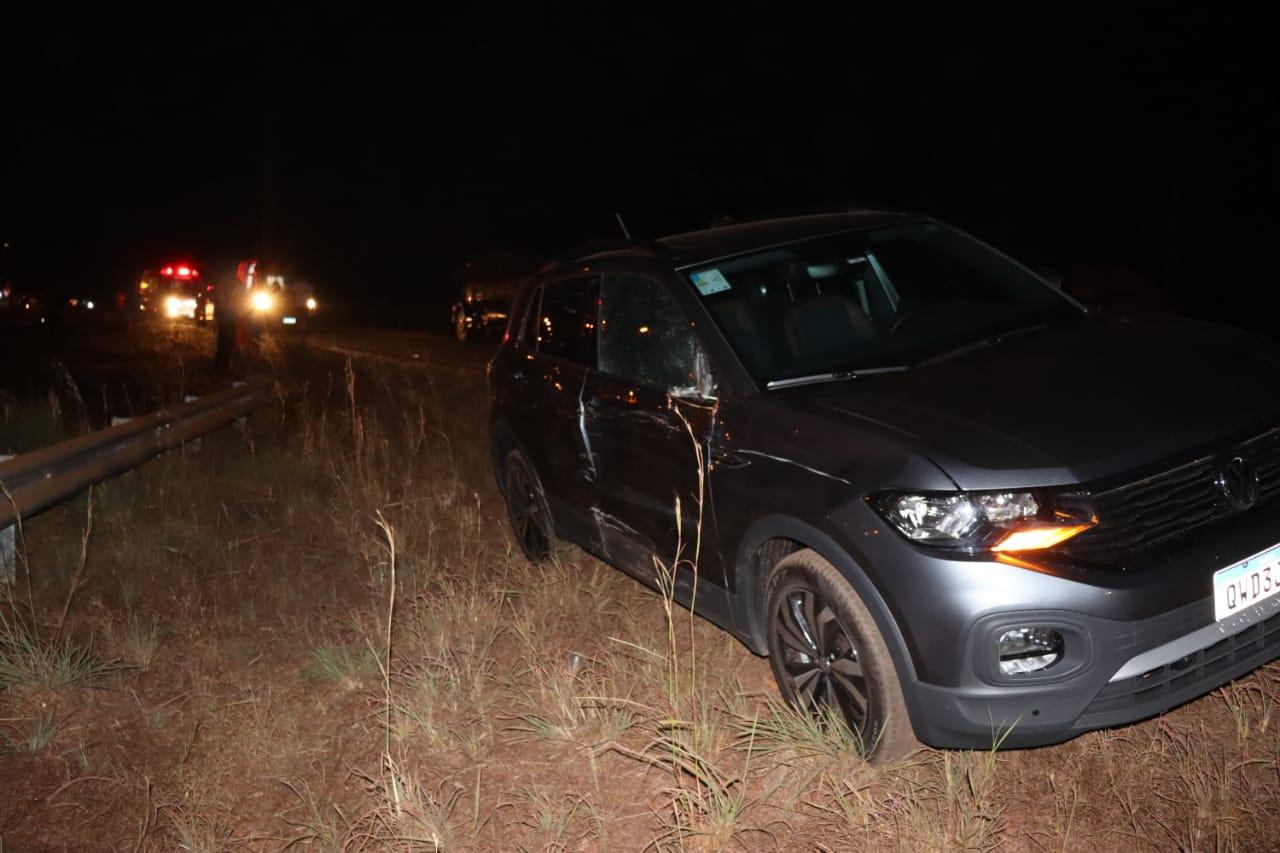 O veículo seguia pela contramão no momento do acidente – Alessandro Ferreira / Agência Tocantins