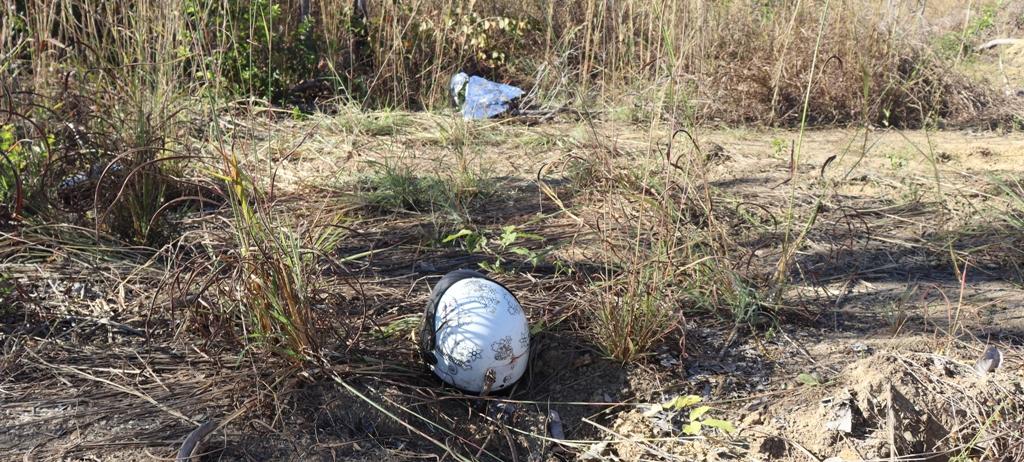 O individuo foi baleado não resistiu e morreu no local – Foto: Alessandro Ferreira / Agência Tocantins