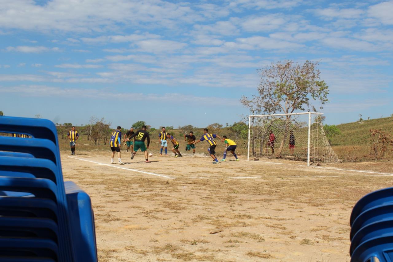 Lance da disputa do torneio de futebol society - Foto: Ascom/Divulgação