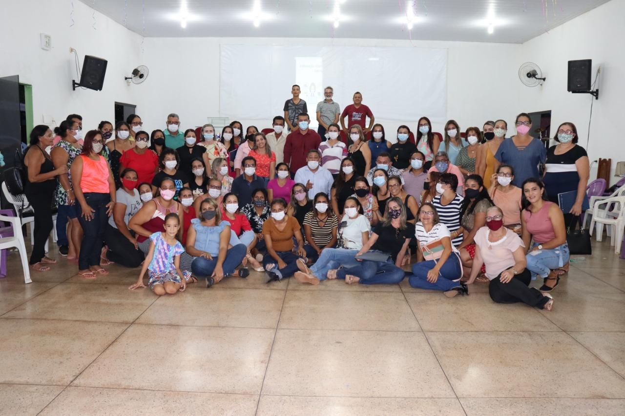 Cerca de 90 servidores foram formados no curso ministrados por membros da empesa Recriar Vidas - Foto: Ascom/Divulgação