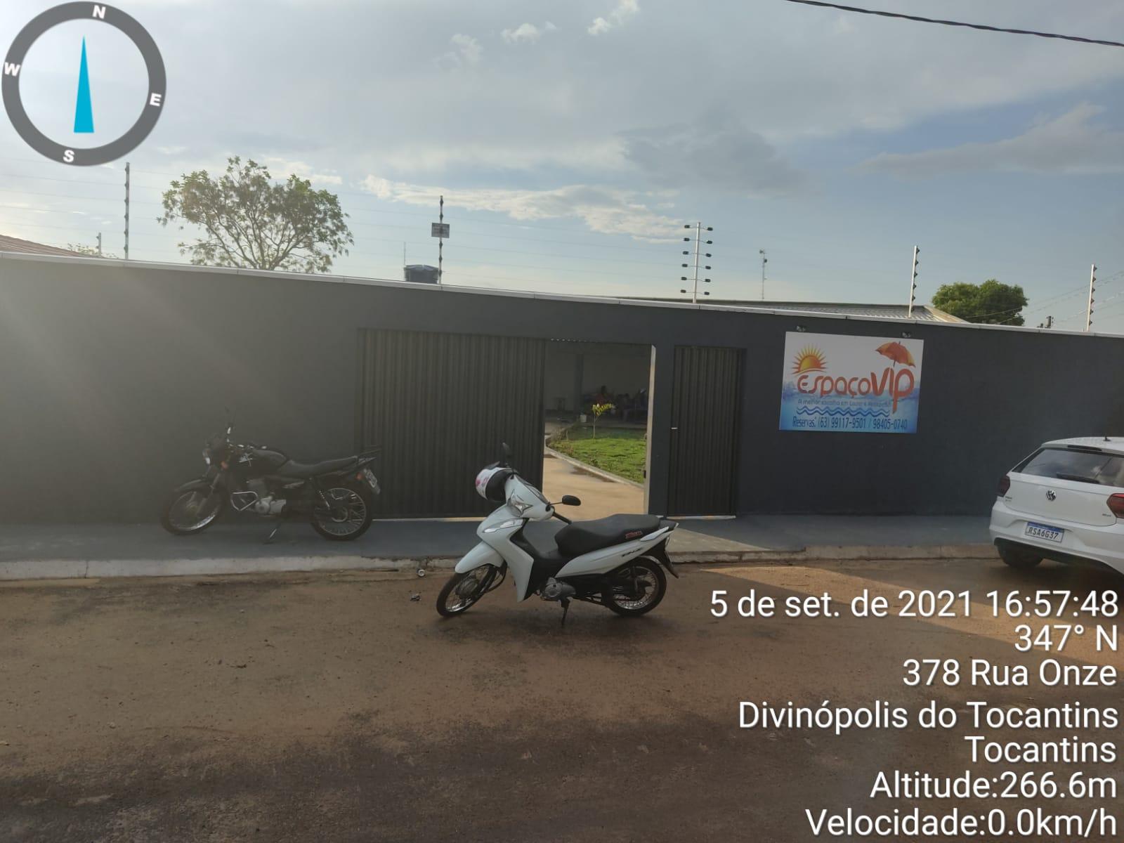 Entrada do local no setor Fernandinho - Foto: Edsom Gilmar