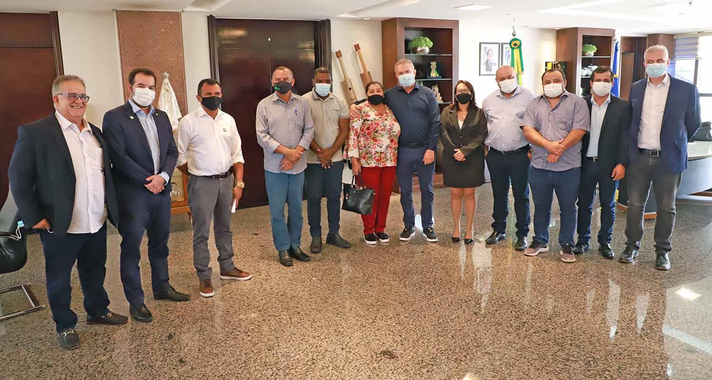 Todos os nove gestores avaliaram positivamente o projeto e concordaram que a proposta vai possibilitar o desenvolvimento de toda a região, inclusive os municípios do entorno – Foto: Washington Luiz/Governo do Tocantins