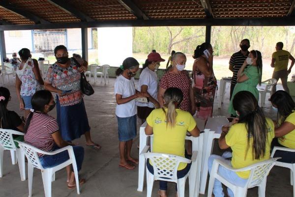 200 cestas básicas foram distribuídas no município - Foto: Ascom/Divulgação