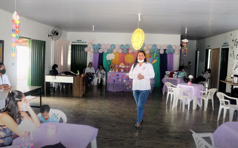 Ação visa da qualidade de vida as gestantes - Foto: Ascom/Divulgação