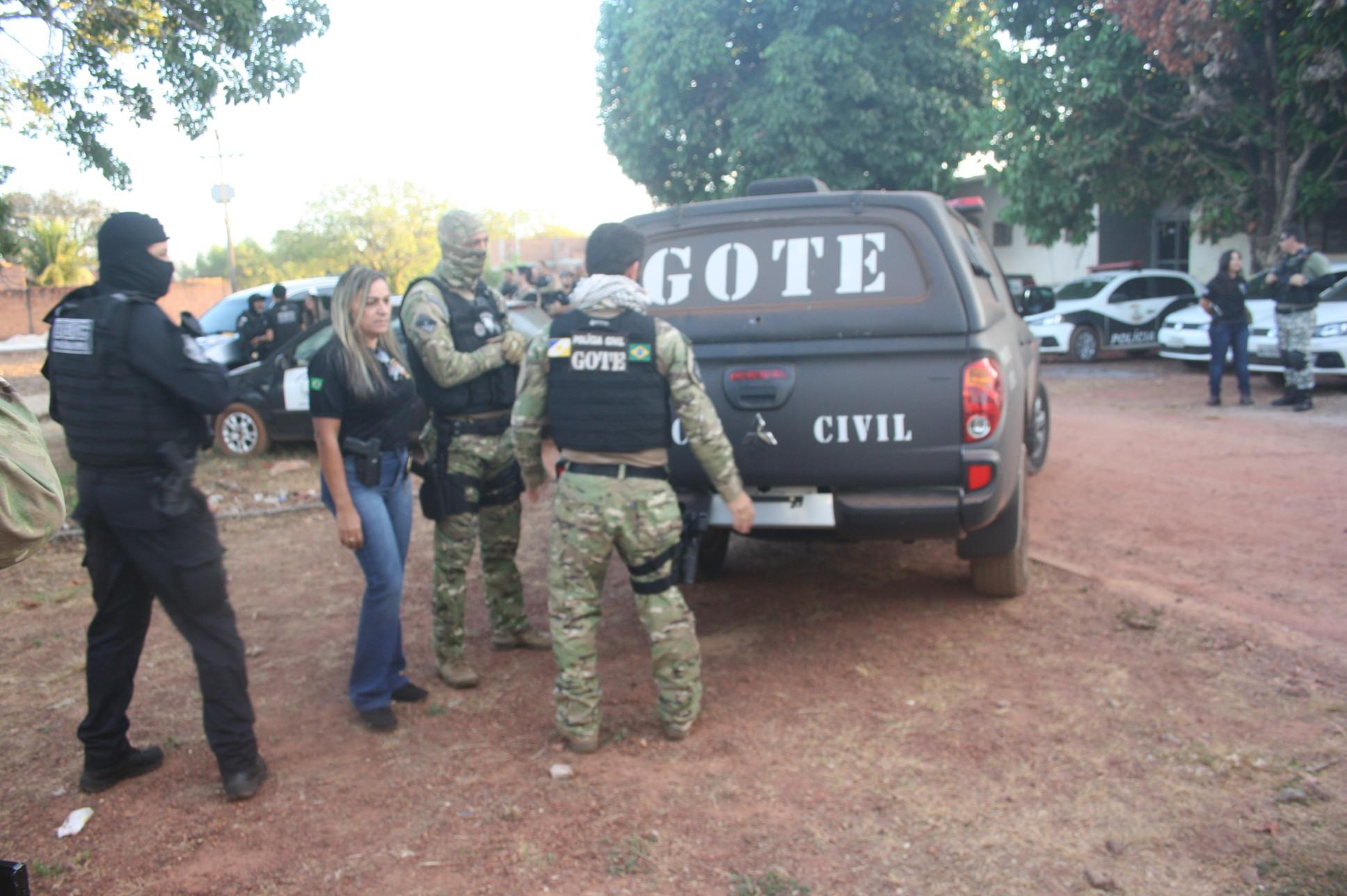 GOTE participou da operação em Divinópolis - Foto: Edsom Gilmar/Arquivo
