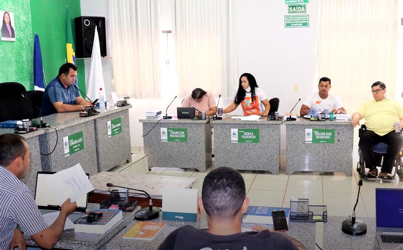 Planejamento do PPA aconteceu no plenário do Poder Legislativo - Foto: Ascom/Divulgação