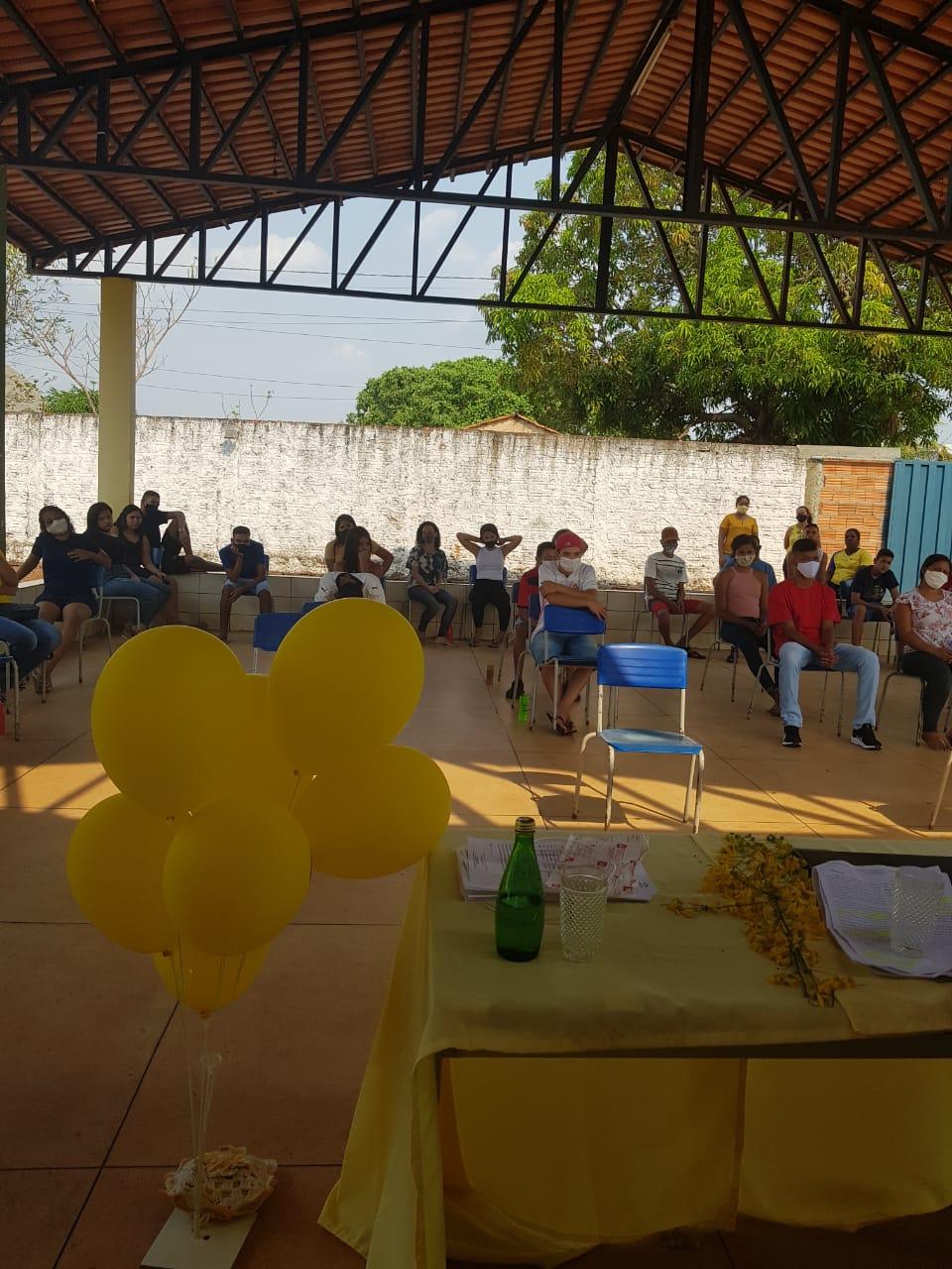 Alunos interagiram e tiraram dúvidas sobre a prevenção do suicídio - Foto: Colégio Trajano de Almeida/Divulgação