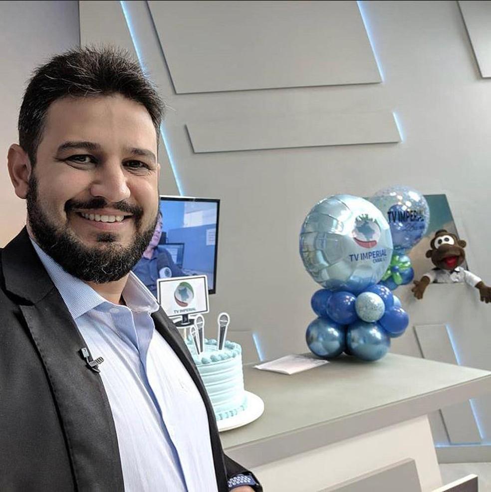 Jornalista Romano dos Anjos — Foto: Rede Social/Reprodução