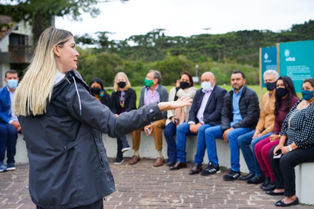 Gestores conheceram as belezas naturais de Cambará - Foto: Ascom/Divulgação