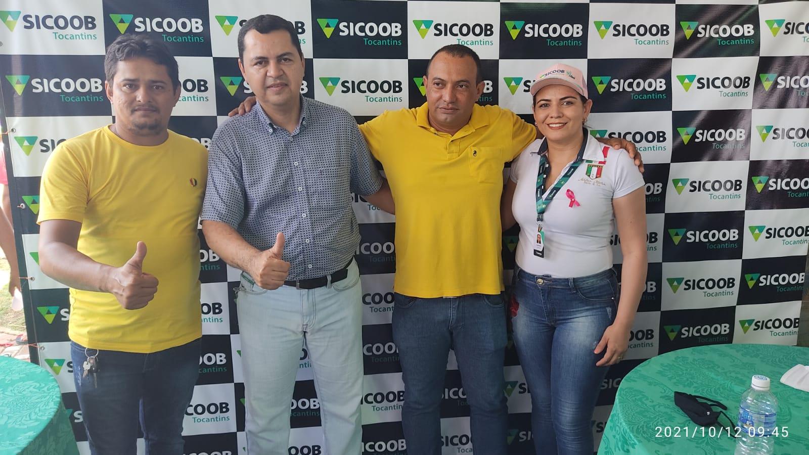 Banco Sicoob Tocantins esteve presente no evento - Foto: Edsom Gilmar