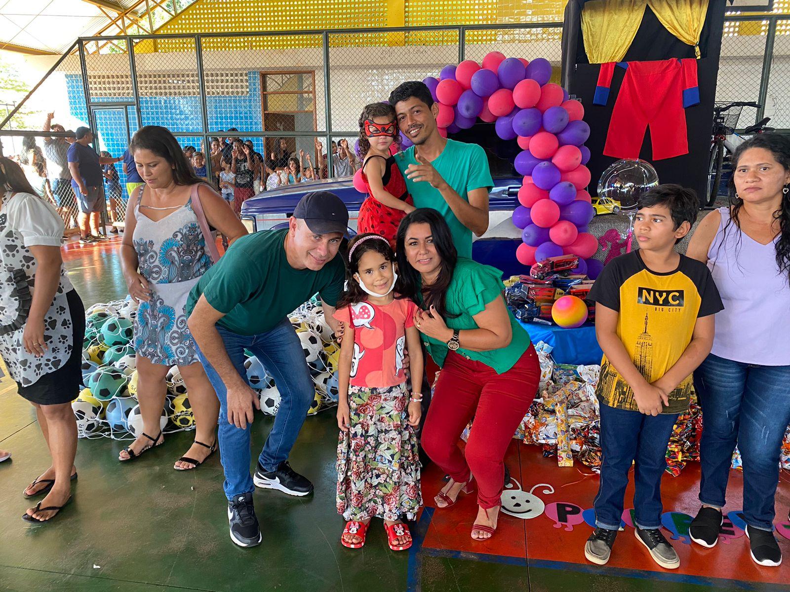 Diversão e alegria no evento do ginásio Paulo Celestino - Foto: Ascom/Divulgação