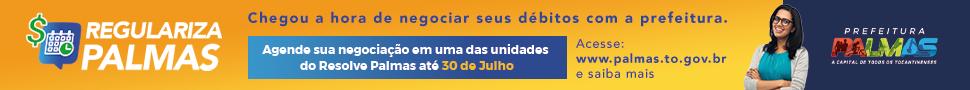 CAMPANHA REGULARIZA PALMAS -VEICULAÇÃO
