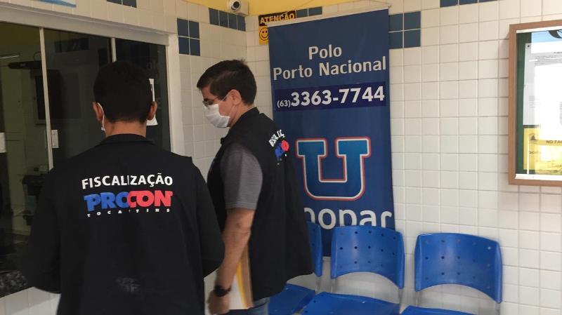 Mais de 80 instituições de ensino são notificadas para cumprir a lei – Foto Divulgação Procon/Governo do Tocantins