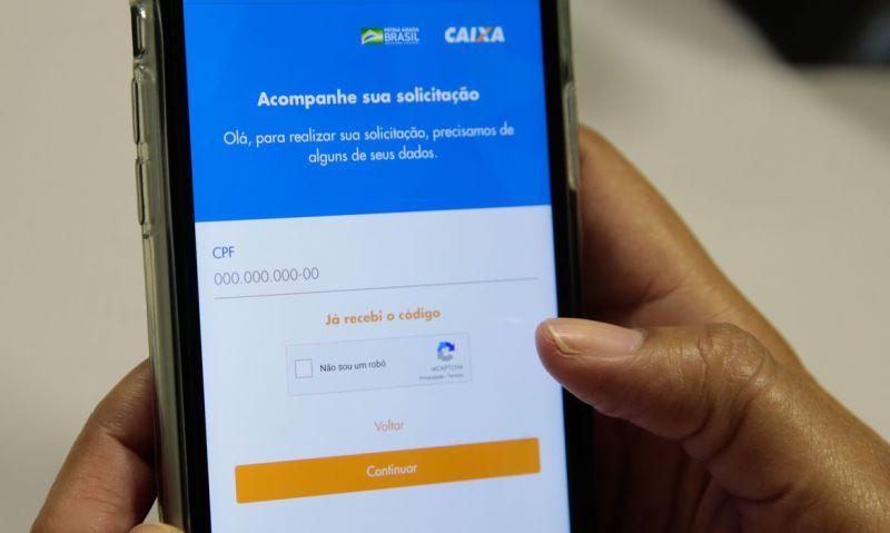Quem solicitou pelo app ou pelo site começa a receber neste sábado - Foto: Reprodução/Agência Tocantins