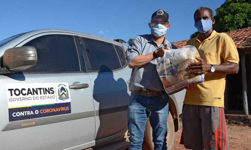 Ação está sendo realizada pelo Instituto de Desenvolvimento Rural (Ruraltins) e a Secretaria de Estado do Trabalho e Desenvolvimento Social (Setas). (Foto: Antônio Gonçalves/Governo do Tocantins)