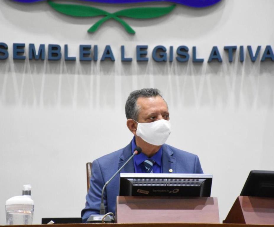 Antonio Andrade durante sessão na Assembleia Legislativa do Tocantins – Foto: Joelma Cristina/Divulgação