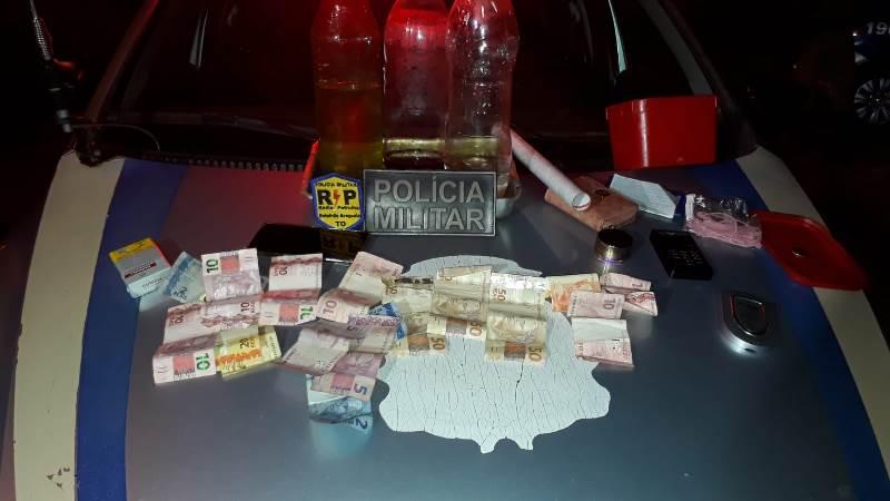 Suspeito de aliciar menor para o tráfico é preso pela PM em Araguaína