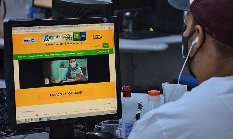 Agrotins 100% Digital traz palestra sobre a tecnologia no campo em tempos de pandemia