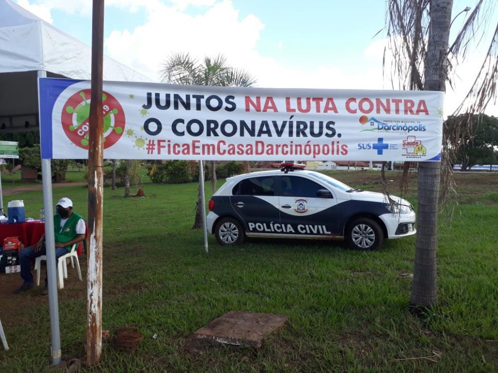 Polícia Civil investiga dois moradores de Darcinópolis por descumprimento de medida sanitária contra o coronavírus