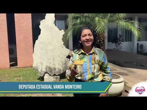 Homenagem da deputada Vanda Monteiro pelo aniversário de 31 anos de Palmas